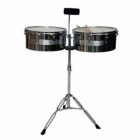 Timbal NEW BEAT TIMBALES NEW BEAT MOD. LT-256C  IPNEWLT256C - Envío Gratuito