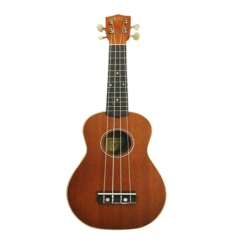 Ukulel CAMPERO Modelo 21 Top and Side  C-UK-21-TS