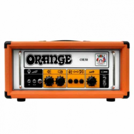 Amplificador de Guitarra ORANGE AMPLI. GUITARRA ELEC. ORANGE, 50W MOD. OR50H 8000148 - Envío Gratuito