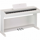 Pianos Digital YAMAHA Piano digital Arius (Incluye adaptador PA5D), Blanco  NYDP143WHSPA