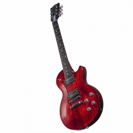Guitarra Eléctrica GIBSON Les Paul Faded HP 2017 Worn Cherry HLPF17WCCH1 - Envío Gratuito